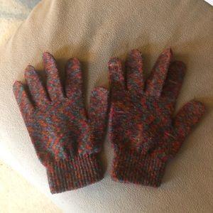 Multi colored gloves